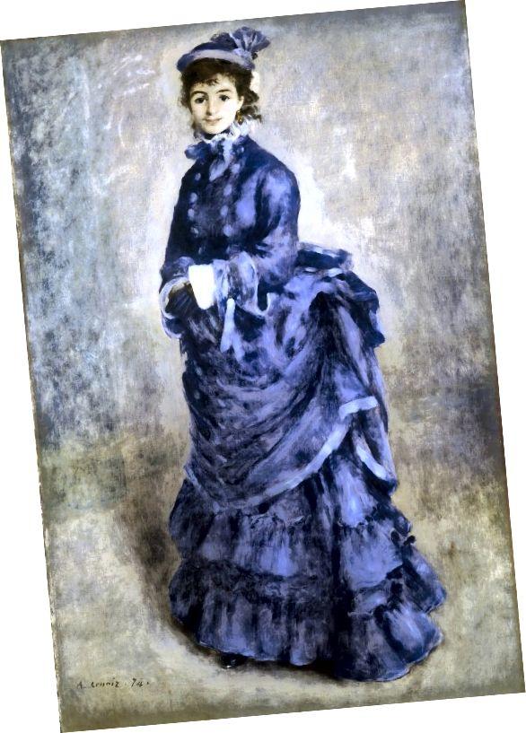 Plnost zad díky shonu (1870s).