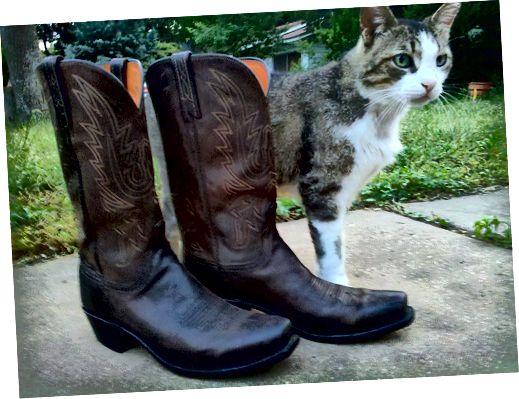 Cowboy Boots: Eng amerikanesch Traditioun