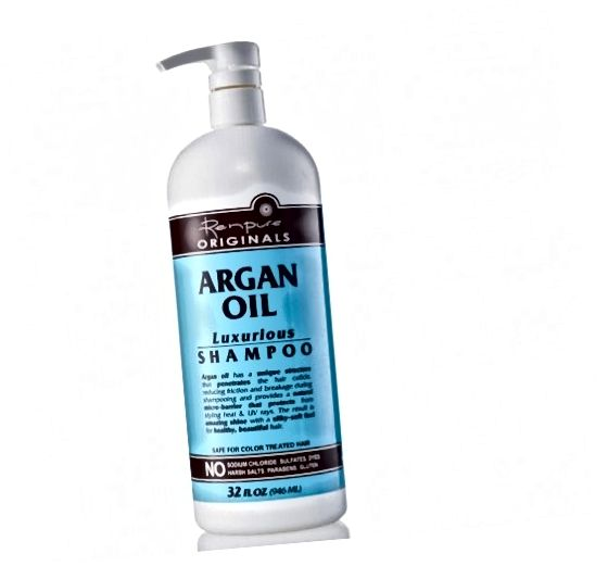 Renpure Organics Sampon de lux cu ulei de argan