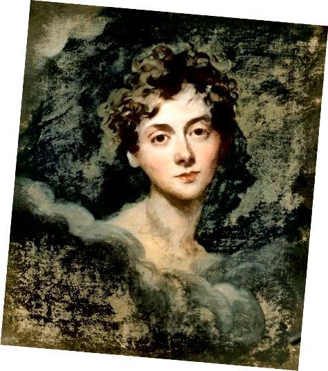 लेडी कैरोलिन लेम्ब का 1805 का चित्र। तुम कर सकती हो!