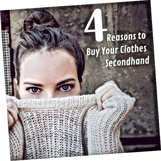 Куповина одеће из друге руке има неке велике предности.