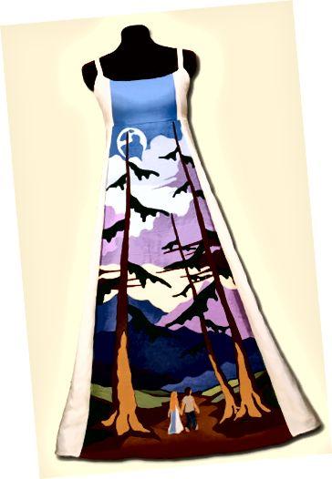 Jednodenní šaty od Thread Head Creations