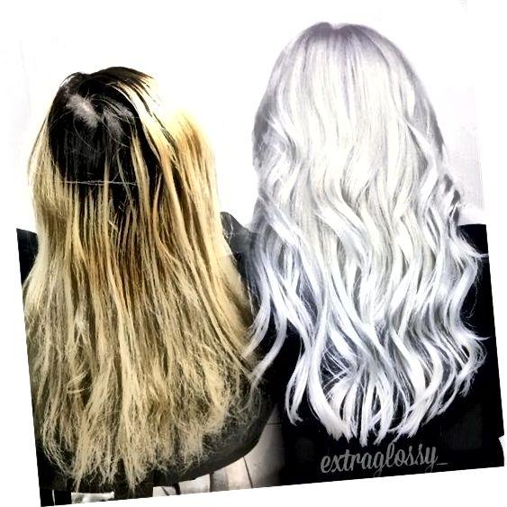 După ce ți-ai luat părul de la alb în alb, va fi nevoie de puțină întreținere pentru a-l păstra fericit.