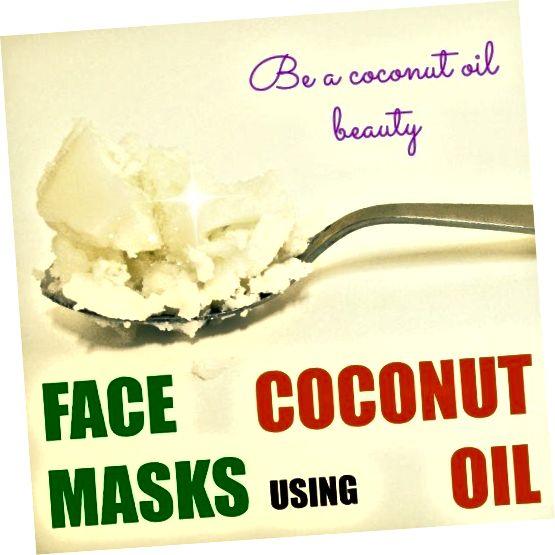 नारियल तेल सौंदर्य हो, सनसनीखेज नारियल तेल चेहरे मास्क के साथ।
