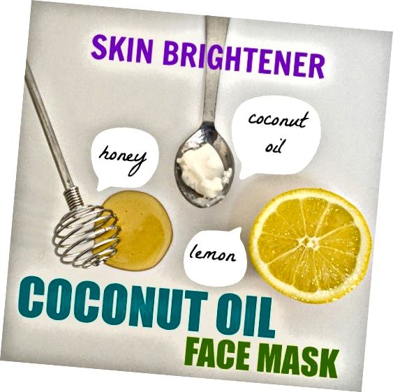 Éclairez instantanément la peau terne avec ce masque facial à l'huile de noix de coco au citron et au miel!