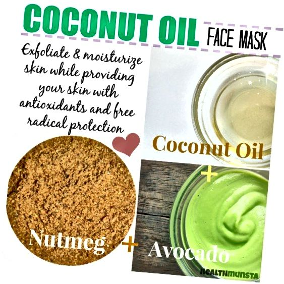 जायफल के साथ अपने नारियल के तेल के फेस मास्क में एक मसालेदार ट्विस्ट डालें। मसाला त्वचा के स्वास्थ्य के लिए शानदार है।