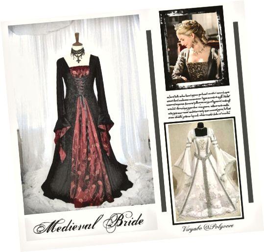 Středověké svatební šaty