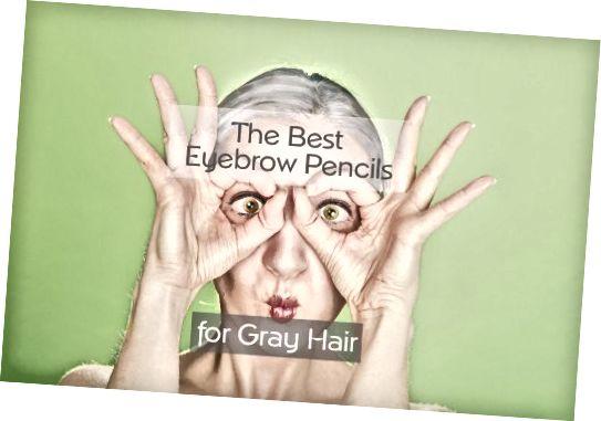 مداد ابرو برای موهای خاکستری