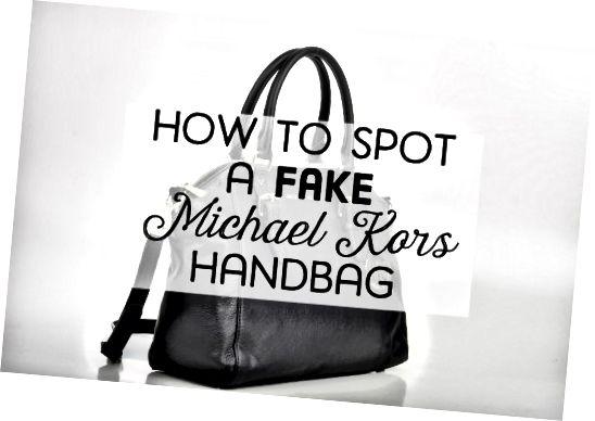 Michael Kors 가짜 핸드백의 모든 징후를 알아보십시오.
