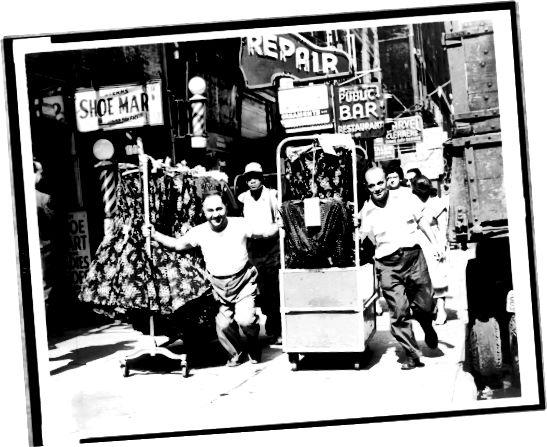 Oděvní dělníci v New Yorku