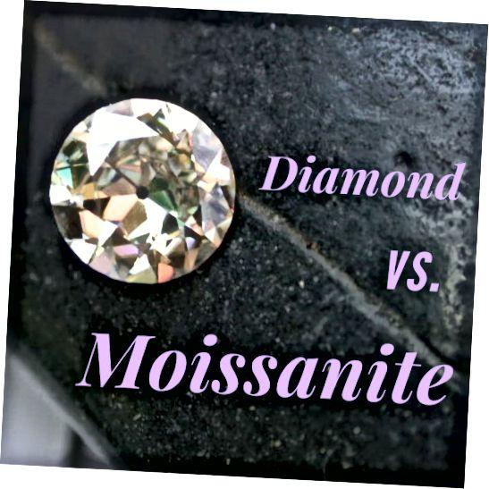 Je moissanite dobrou alternativou k diamantovým šperkům?