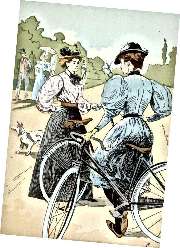 Jízdní kola poskytly ženám větší nezávislost a mobilitu.