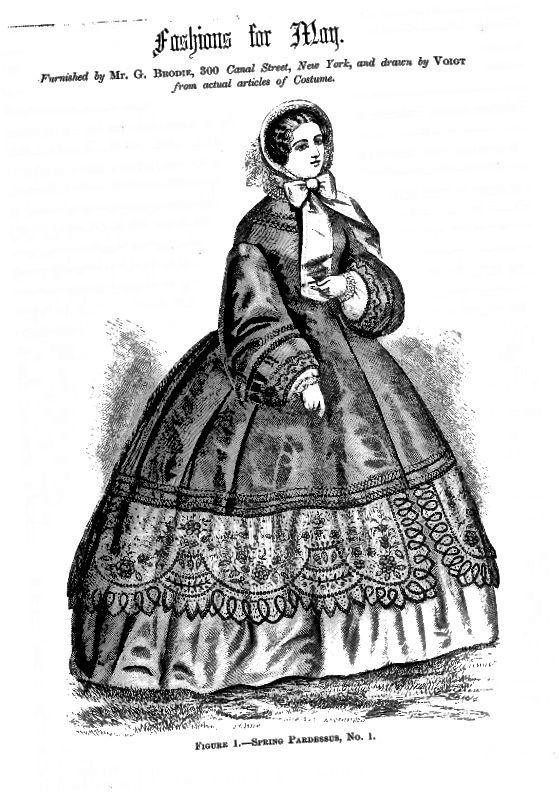 1861 Módní Ilustrace