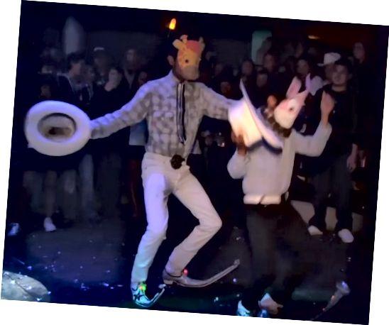 Εάν πρόκειται να φορέσετε μυτερά πηγαίνει, μπορείτε επίσης να χορέψετε.