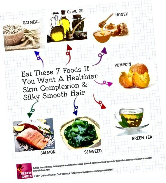 Їжа для здорового волосся