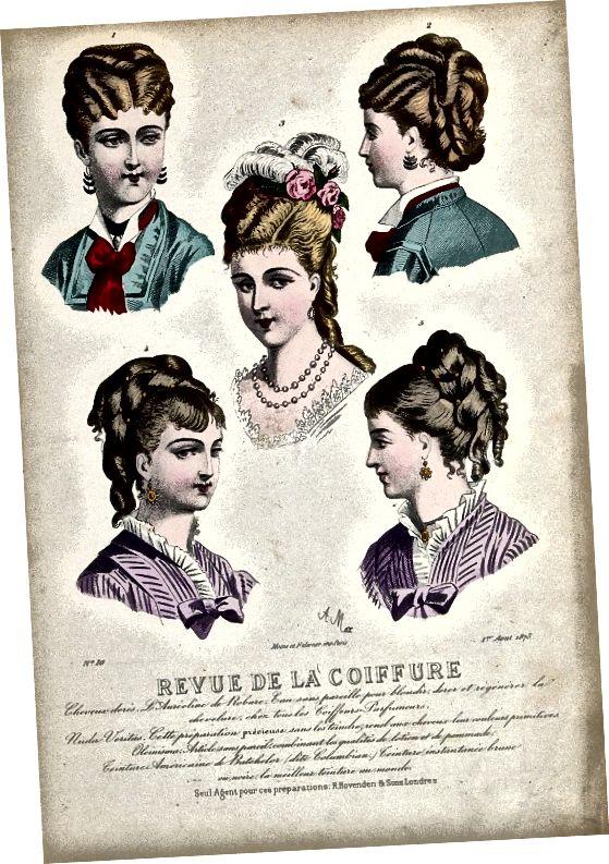 Vlasy kolem roku 1875