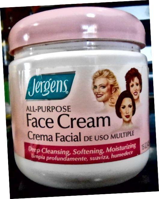 Jergen's All-Purpose Face Cream - Má pěkné obaly, nemyslíte?