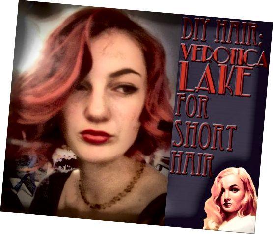 حتی اگر موهای کوتاهی دارید ، می توانید مدل موهای پرنعمت دهه 1940 را کنار بزنید.