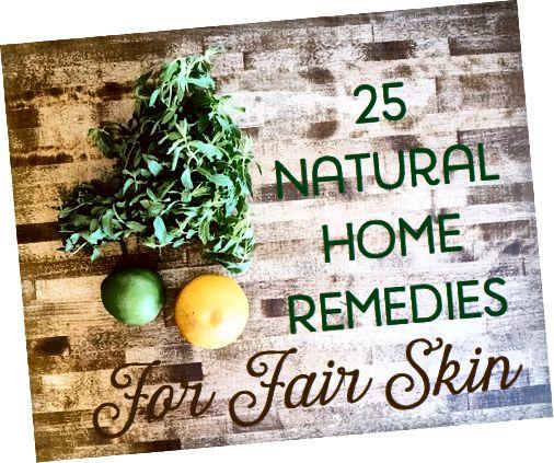 Če ne želite porabiti denarja za drage kreme, ki morda ne bodo zdrave za vašo kožo, razmislite o nekaterih naravnih domačih rešitvah.