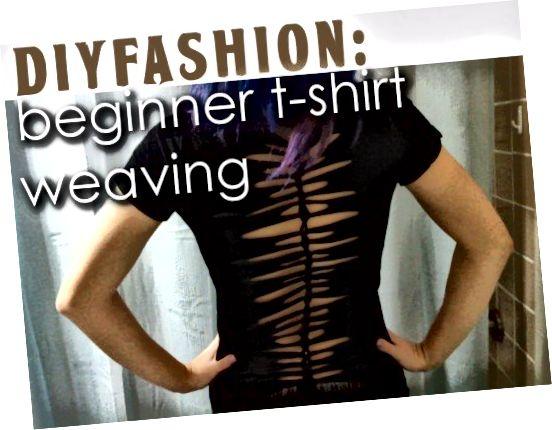 بیاموزید که چگونه تی شرت های خود را به الگوی جالب توجه کنید.