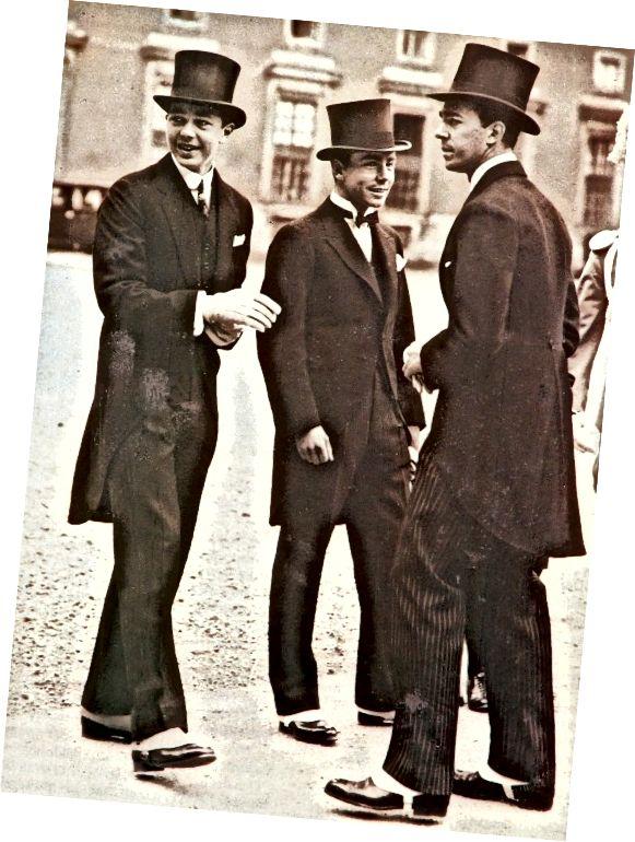 Kníže Bertil, Sigvard a Gustav Adolf ze Švédska