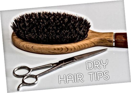 Sfaturi pentru părul uscat