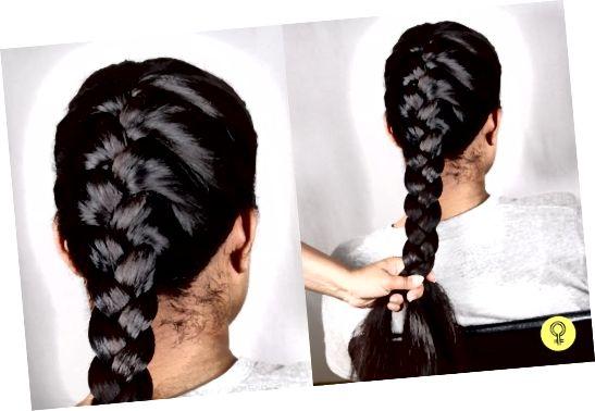 Pletenje las pred spanjem vam lahko pomaga, da se izognete jutranjim frizom.