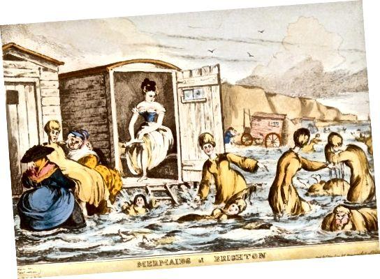 Γυναίκες & Μηχανήματα Μπάνιου, Μπράιτον 1829