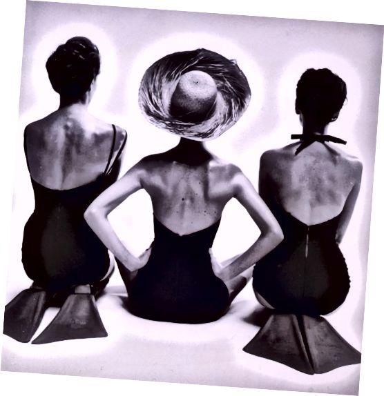 Στολές χαμηλής πλάτης της δεκαετίας του 1950