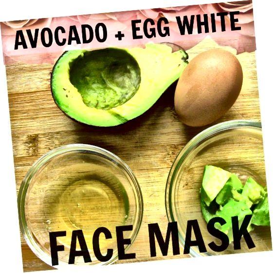 ماسک فوق العاده قدرتمند با آووکادو و سفیده تخم مرغ. سفت و محکم ، مرطوب کننده ، مرطوب کننده ، آبرسانی پوست!