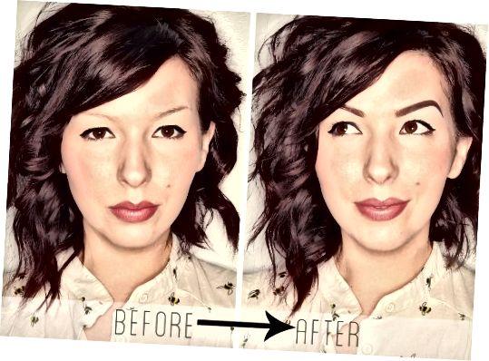 Perfect Eyebrow-zelfstudie door Keiko Lynn