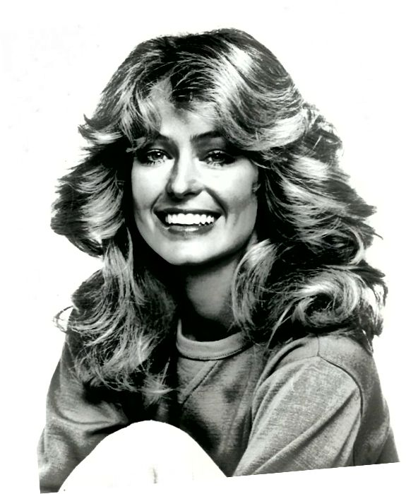Farrah Fawcett在70年代疯狂流行!