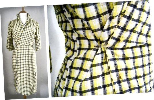 Vintage obleka srajce 1950 -60-ih Mode O 'Day.