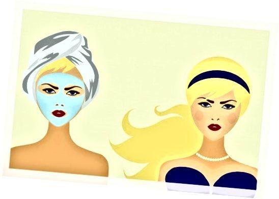 يمكن لقناع الوجه أن ينظف أو يزيل أو يقشر أو يزيل الزيت أو يرطب ، حسب النوع الذي تختاره.