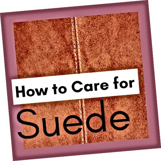 Cara Merawat Suede
