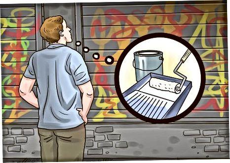 Graffiti ustidagi rasm