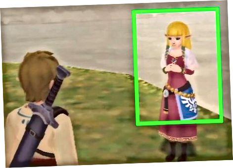 Zelda bilan tashqarida