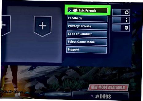 Fortnite में एक PS4 प्लेयर जोड़ना