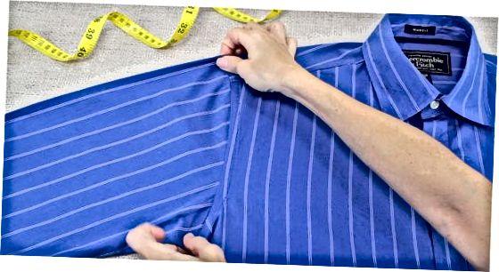 Rokas urbuma izmēra novērtēšana no krekla