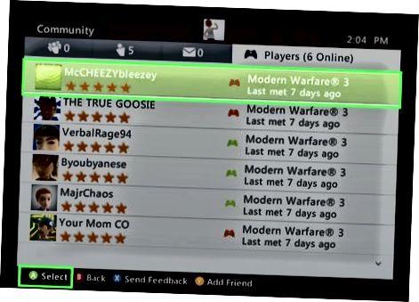 Xbox 360-da xabar berish va bloklash