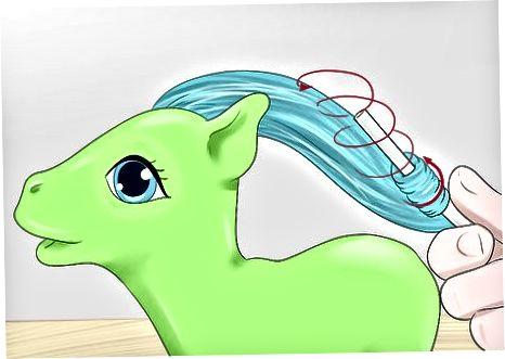 Flutter Pony Curl qilish