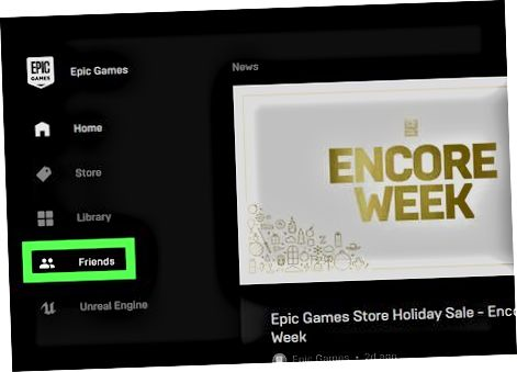 Epic Games Launcher-dan foydalanish