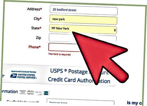 Pochta markalarini Internetda Stamps.com orqali sotib oling