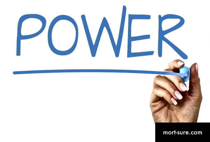 Perbedaan antara kekuatan dan kepemimpinan