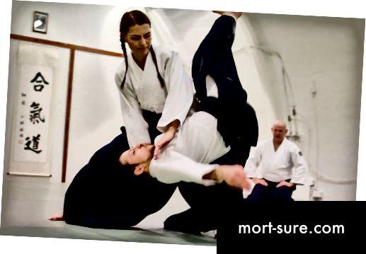 Unterschied zwischen Aikido und Karate