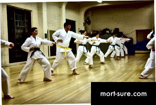 Unterschied zwischen Aikido und Karate-1