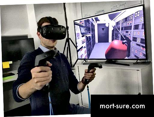 Разлики между виртуалната реалност и разширената реалност
