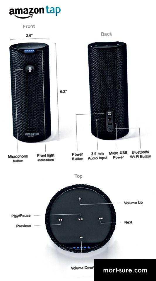 Unterschied zwischen Amazon Echo und Amazon Tap-1
