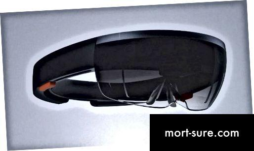 Atšķirība starp Google Glass un Microsoft HoloLens-1