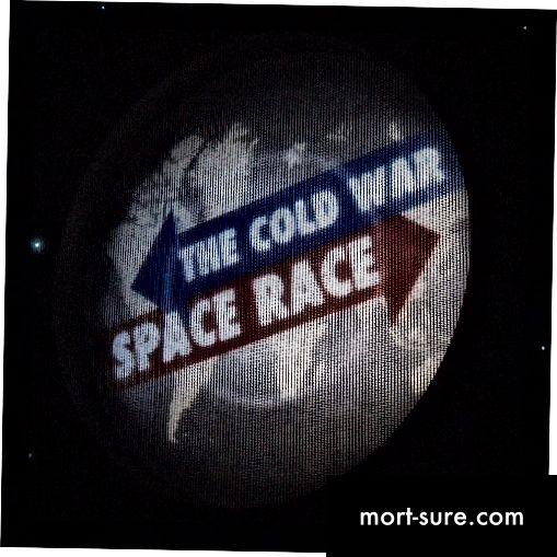Forskellen mellem rumfartsrejse i den kolde krig og moderne rumrejser